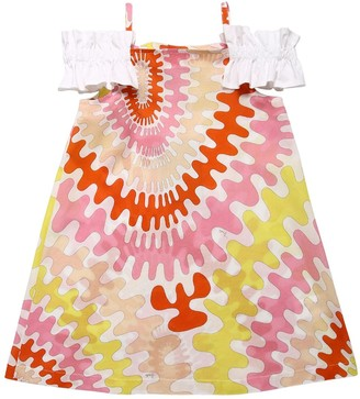 Emilio Pucci Printed Cotton Muslin Dress