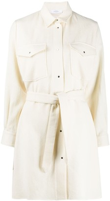 Roseanna Belted Shirt Dress