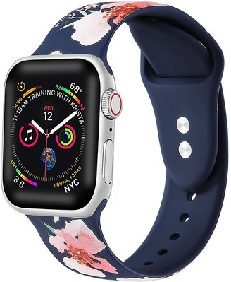 Posh Tech Printed Silicone Band for 38mm/40mm Apple Watch Series 1, 2, 3, 4, 5