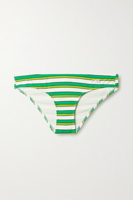 Solid & Striped The Elle Striped Bikini Briefs - White