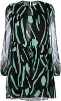 Diane von Furstenberg embroidered dress - women - Silk/Polyester - 8