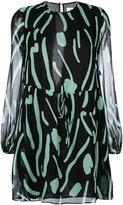 Diane von Furstenberg embroidered dress