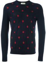 Gucci bees intarsia jumper - men - Wool - S