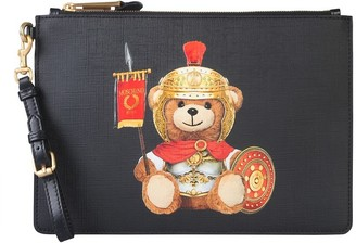 Moschino Roman Teddy Bear Pouch