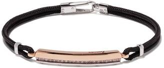 Zancan Woven-Effect Band Bracelet