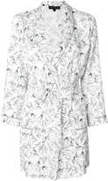 Love Stories sketch print robe