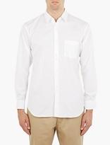 Comme des Garcons plain double button shirt