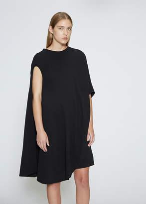 Calvin Klein One-Shoulder Drape Dress