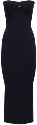 Dion Lee Viscose & Nylon Knit Bustier Dress