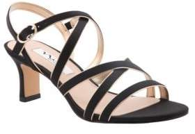 Nina Genaya Satin Sandals