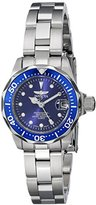 Invicta Women's 17034 Pro Diver Analog Display Japanese Quartz Silver Watch