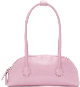 Marge Sherwood Pink Crinkled Bessette Bag