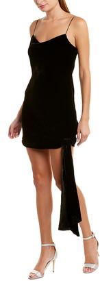 Cinq à Sept Ryder Velvet Silk-Blend Mini Dress