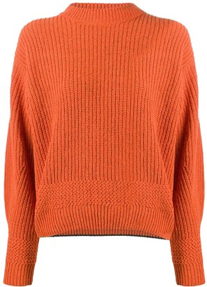 Lala Berlin Crew-Neck Long Sleeve Jumper