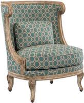 John-Richard Collection John Richard Louis XVI Carved Bergere Chair