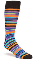 Daniel Cremieux Multi-Stripe Crew Socks