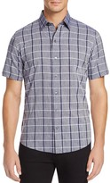 Zachary Prell Leo Check Regular Fit Button-Down Shirt