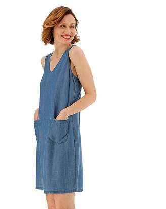 Jd Williams Tencel Sleeveless Shift Dress