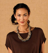 Gaiam Calabash Long Necklace