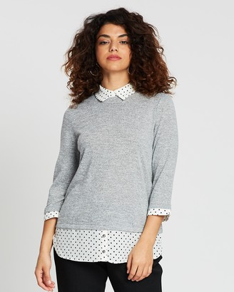 Dorothy Perkins Spot 2-in-1 Top