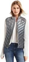 Gap ColdControl Lite ombré metallic puffer vest