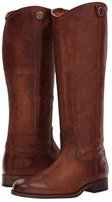 Frye Melissa Button 2 (Black) Cowboy Boots