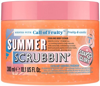 Soap & Glory Call of Fruity Summer Scrubbin' Cooling Body Exfoliator