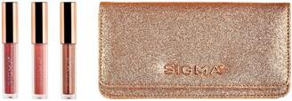 Sigma Beauty Mini Lip Gloss Set