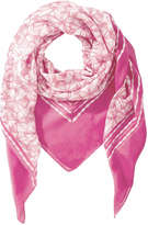 Joe Fresh Women's Floral Print Scarf, Light Red (Size O/S)