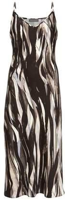 Mint Velvet Agnes Print Midi Slip Dress