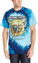 FEA Men's Sublime 40 Oz To Freedom Blue Tie Dye T-Shirt