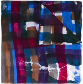 Faliero Sarti abstract print scarf