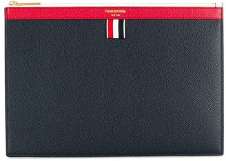 Thom Browne two-tone tablet holder