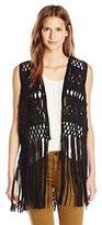 French Connection Women's Tiger Lily Knot Vest