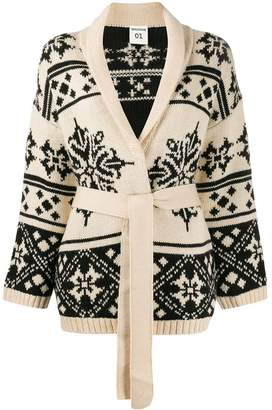 Semi-Couture Semicouture patterned cardigan