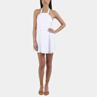 SIR the Label Jasmin Linen Halter Dress