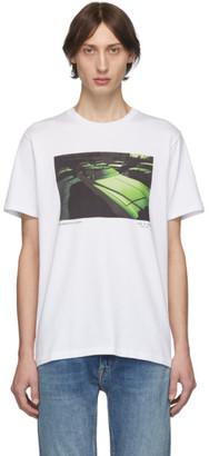 Rag & Bone White Vintage Car T-Shirt
