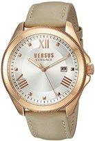 Versus By Versace Women's SBE030015 Analog Display Quartz Beige Watch