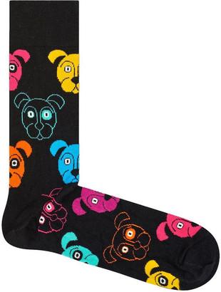 Happy Socks Animal Dog Crew Sock DOG01-9001