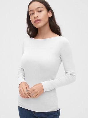Gap Modern Bateau Long Sleeve T-Shirt