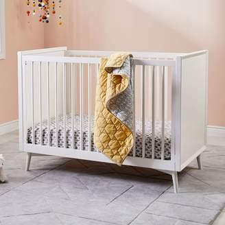 west elm Mid-Century Convertible Crib - White