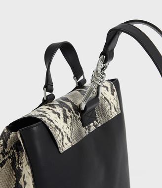 AllSaints Sliver Suede Backpack