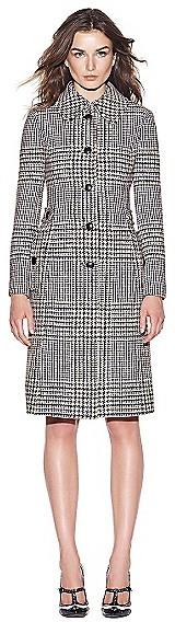 Tory Burch Virginia Glen Plaid Coat
