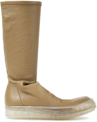 Rick Owens Stretch-leather Boots