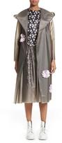 Women's Paskal Reflective Flower Trim Vinyl Raincoat