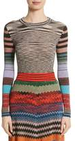 Missoni Metallic Space Dye Knit Sweater
