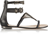 Schutz Embellished leather sandals