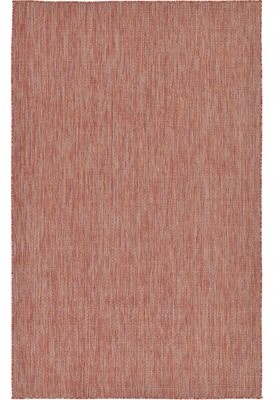 Laurèl Janet Rust Red Area Rug Foundry Modern Farmhouse Rug Size: Rectangle 6' x 9'