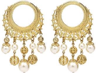 Ben-Amun Ben Amun Round Pearly Drop Earrings