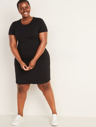 Old Navy Fitted Plus-Size T-Shirt Dress